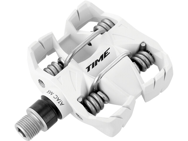Time ATAC MX6 All Mountain Pedales, white
